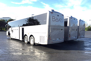 Bayes Global Pacific Tours Coach
